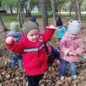 Осенние забавы в садике